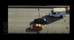 高速道路を走る車に音を合わせて曲を演奏してみた動画