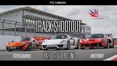 マクラーレン P1 vs フェラーリ ラ・フェラーリ vs ポルシェ 918 スパイダー サーキットタイムアタック動画