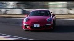 筑波1分1秒342 ポルシェ 991 GT3 オンボード動画