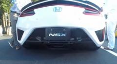 新型ホンダ NSX ブリッピングサウンド動画