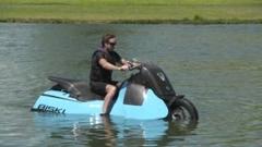アクティブなあなたに水陸両用バイクはいかが?