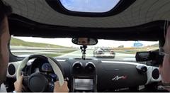 ケーニグセグ アゲーラ R がアウトバーンでハイスピード走行しちゃう動画
