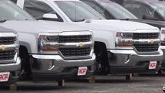 アメリカのシボレーディーラーで180本もタイヤが盗まれる