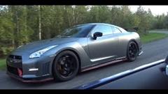 日産 GT-R NISMO vs メルセデス AMG GT S 加速対決動画