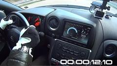 0-300km/h 12秒、1マイル400km/h で駆け抜ける1500馬力オーバーGT-Rのオンボード動画