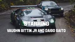ランボルギーニ ムルシエラゴとフォード マスタングが新潟の廃墟で超絶ドリフト!