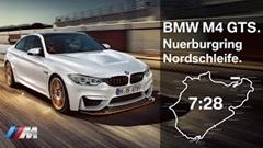 BMW M4 GTS ニュル7分28秒 フルオンボード動画