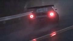 1000馬力GT-R 雨の箱根ターンパイクドリフトオンボード動画