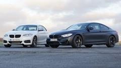 BMW M235i vs M4 ゼロヨン加速対決動画