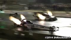 8,000馬力 ファニーカー vs 10,000馬力 ドラッグスター トップフューエル加速対決動画