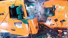 ボルボ トラックの安全性を1分で解説する動画