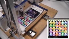 スゲー!全自動でパズドラをプレイしちゃうロボット動画