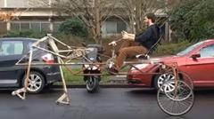 歩く自転車を作ってみたwwww