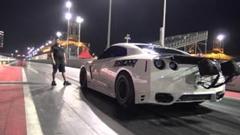 はえー!日産GT-R ゼロヨン7秒265 世界新記録動画