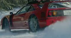 フェラーリ F40 で雪山を登っちゃうスゴスギCARGUY動画