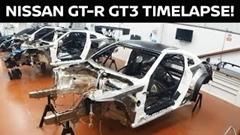 日産 GT-R NISMO GT3 の製作過程がよくわかる動画