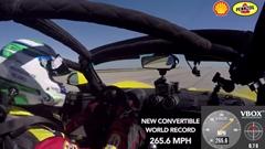 オープンで427.3km/h!ヘネシー ヴェノム GT スパイダー 世界一速いオープンカー記録達成動画