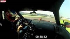 ランボルギーニ ウラカン vs アウディ R8 V10 Plus vs ポルシェ 991 ターボS サーキットタイムアタック動画