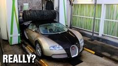 金持ち「ヴェイロンが汚れたから洗車するか」→ガソリンスタンドの洗車機