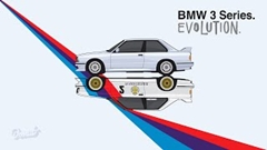 BMW 3シリーズの進化の過程がよくわかる動画