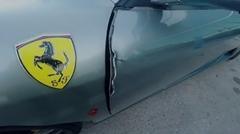 フェラーリ F430 のドアがぶっ壊れた!→修理代430万円