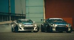 GT-R と 86 が超絶ドリフトしちゃうトーヨータイヤの美しきコンセプトビデオ