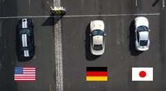 日産 GT-R vs ポルシェ 991 ターボS vs ダッジ チャレンジャー SRT ヘルキャット 3台同時ドラッグレース動画