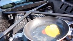 ランボルギーニ ウラカンで料理してみたwww