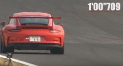 ポルシェ 991 GT3 RS が筑波で1分00秒79を記録しちゃう動画