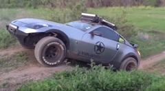 これで荒れ地も怖くない!日産 350Z を本格オフロードカーにしてみたオフローダーZ