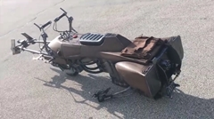 スターウォーズのスピーダー・バイクをリアルに作ってみた