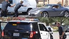 警官っぽい格好して「車を貸してくれ!」っていうのをリアルでやってみたイタズラ動画