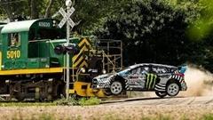 ケン・ブロック ジムカーナ9 600馬力のフォード フォーカス RS RX で大暴れしちゃう超絶ドリフト動画