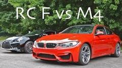 レクサス RC F vs BMW M4 加速対決動画