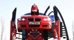 スゲー!BMW がリアルトランスフォームしちゃう動画