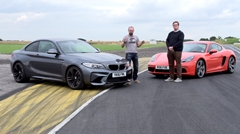 ポルシェ 718 ケイマンS vs BMW M2 サーキット対決動画