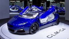 カッケー!日本初のEVスーパーカー GLM G4 が初公開