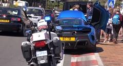 目立ちたがり爆音スーパーカー vs モナコ警察