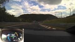 テスラ モデルS P85D ニュルブルクリンク 8分50秒 フルオンボード動画