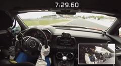 シボレー カマロ ZL1 ニュル 7分29秒60 フルオンボード動画