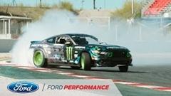 フォード マスタングがカタロニア・サーキットで超絶ドリフトしちゃう動画