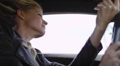 ランボルギーニ ウラカンの美女ドリフト動画