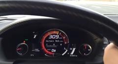 新型ホンダ NSX で309km/h出してみた