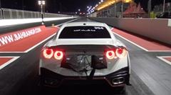 はえー!日産GT-R ゼロヨン7秒168 世界新記録動画