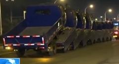中国人「トラック10台まとめて運んだろ」