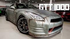 錆びた感じがかっこいいヴィンテージ風1000馬力GT-R