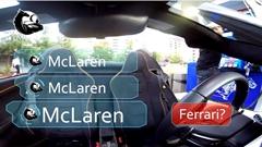 マクラーレン 650S スパイダーを見た人々のリアクション動画
