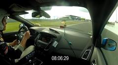 フォード フォーカス RS Mk3 ニュル8分6秒フルオンボード動画