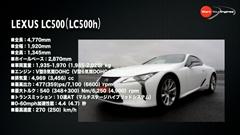 レクサス LC500/LC500h レビュー動画