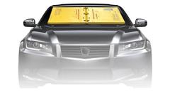フロントガラスに貼り付けるだけの簡単駐車違反取締りツール